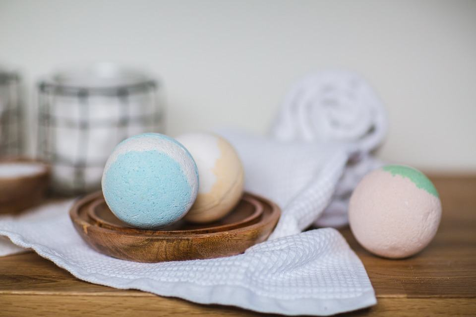 Bath Bombs are excellent for relaxation