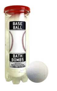 baseball bath bombs