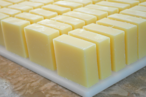 Storing home made soap